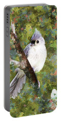 Sweet And Endearing Portable Battery Charger by Tina  LeCour