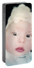 Sweet Baby Girl Portrait Portable Battery Charger