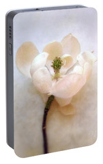 Portable Battery Charger featuring the photograph Sweet Bay Magnolia Bloom by Louise Kumpf