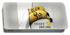 Sweet Dreams Portable Battery Charger by Sheila Mcdonald