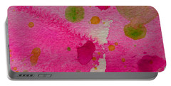 Portable Battery Charger featuring the painting Sweet Dreams by Tracy Bonin