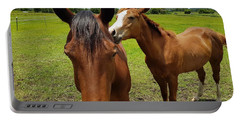 Sweet Horses  Portable Battery Charger