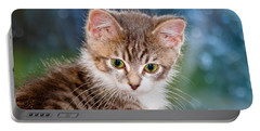 Sweet Kitten Portable Battery Charger
