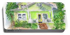 Sweet Lemon Inn Portable Battery Charger by Kathleen McElwaine