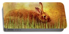 Sweet Little Bunny Face Portable Battery Charger