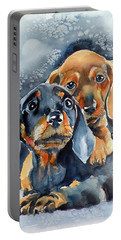 Sweet Little Dogs Portable Battery Charger