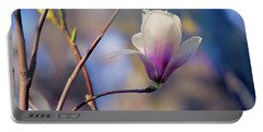 Sweet Magnolia Portable Battery Charger by John Rivera