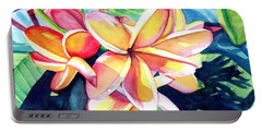 Sweet Plumeria 2 Portable Battery Charger