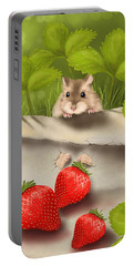 Sweet Surprise Portable Battery Charger by Veronica Minozzi