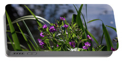 Sweet Violet Portable Battery Charger