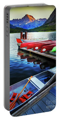 Swiftcurrent Lake And Canoes Portable Battery Charger