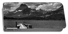 Swiftcurrent Lake Boat Dock Portable Battery Charger