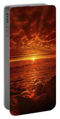 Portable Battery Charger featuring the photograph Swiftly Flow The Days by Phil Koch