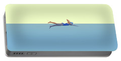 Swimming Girl Portable Battery Charger