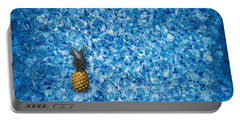 Swimming Pool Days Portable Battery Charger
