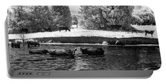 Swimming With Cows IIi Portable Battery Charger