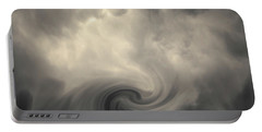 Swirl Wave Vi Toned Portable Battery Charger