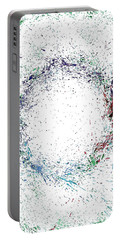 Swirling Of Life Portable Battery Charger