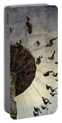 Portable Battery Charger featuring the photograph Swirling.... by Russell Styles