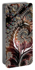 Swirls And Roots Portable Battery Charger