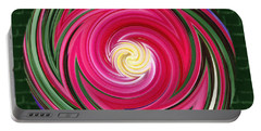 Portable Battery Charger featuring the photograph Swirls Of Color by Sue Melvin