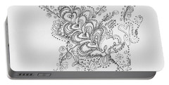 Swirls Portable Battery Charger