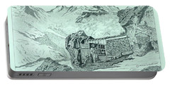 Swiss Alpine Cabin Portable Battery Charger