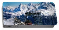 Switzerland Alps Schilthorn Bahn Cable Car  Portable Battery Charger