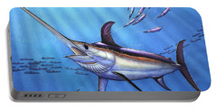 Swordfish In Freedom Portable Battery Charger