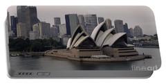 Sydney Australia Skyline Portable Battery Charger by Bob Christopher