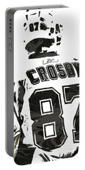 Sydney Crosby Pittsburgh Penguins Pixel Art 2 Portable Battery Charger