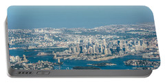 Sydney From The Air Portable Battery Charger by Parker Cunningham