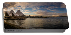 Sydney Harbor Portable Battery Charger by Andrew Matwijec