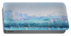 Sydney Harbour And The Opera House Portable Battery Charger by Jan Matson