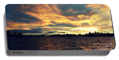 Sydney Harbour At Sunset Portable Battery Charger