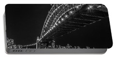 Sydney Harbour Bridge At Night Portable Battery Charger