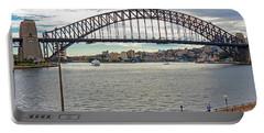 Portable Battery Charger featuring the photograph Sydney Harbour Bridge by Elaine Teague