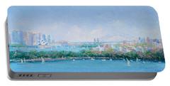 Sydney Harbour Bridge - Sydney Opera House - Sydney Harbour Portable Battery Charger by Jan Matson