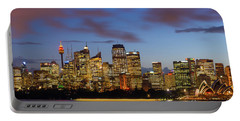 Sydney Harbour Sunset Portable Battery Charger