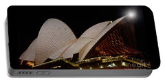 Portable Battery Charger featuring the photograph Sydney Opera House Close View 2 By Kaye Menner by Kaye Menner