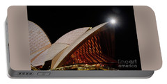 Portable Battery Charger featuring the photograph Sydney Opera House Close View By Kaye Menner by Kaye Menner