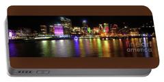 Sydney Skyline By Kaye Menner Portable Battery Charger