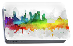 Sydney Skyline Mmr-ausy05 Portable Battery Charger by Aged Pixel