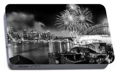 Sydney Spectacular Portable Battery Charger by Az Jackson