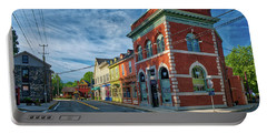 Portable Battery Charger featuring the photograph Sykesville Main St by Mark Dodd