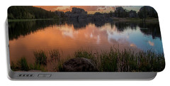 Portable Battery Charger featuring the photograph Sylvan Lake by Gary Lengyel