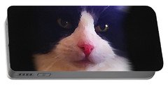 Sylvester Tuxedo Cat Portable Battery Charger
