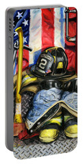 Symbols Of Heroism Portable Battery Charger