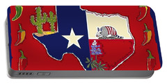 Symbols Of Texas Portable Battery Charger