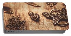 Symbols Of Zen Portable Battery Charger